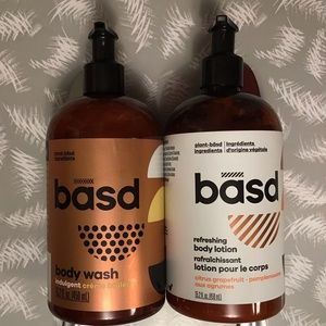 Basd Body Wash & Body Lotion Bundle